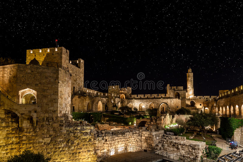 Download Night in the Old City stock image. Image of east, architecture - 40454137
