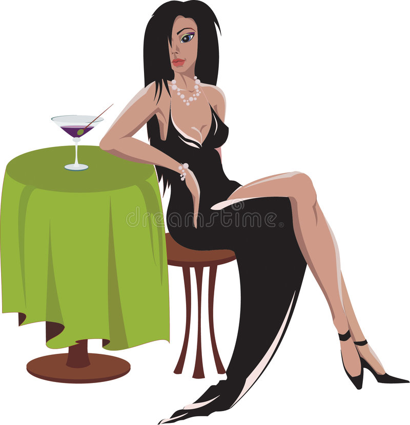 Download Night Out On The Town stock illustration. Image of night - 1708039