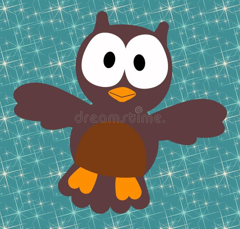 Download Night owl stock illustration. Image of ornithology, nature - 18772249