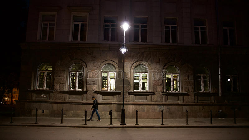 Night passer royalty free stock photography