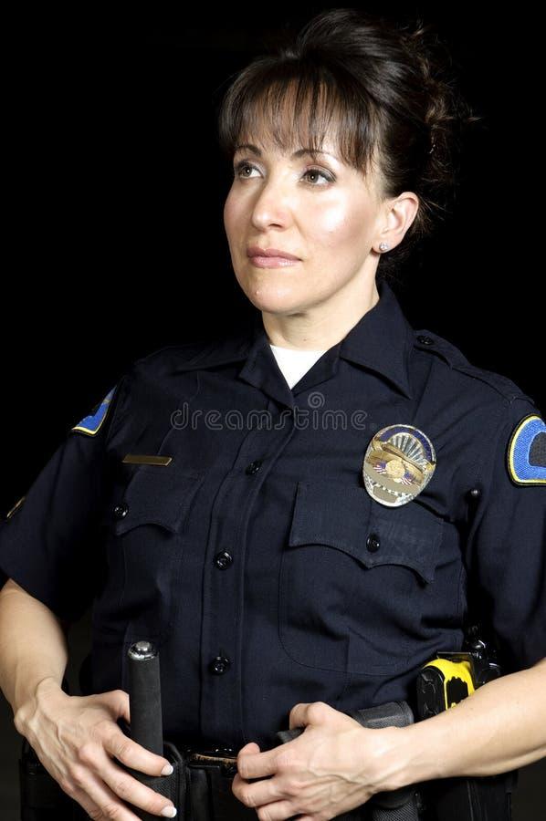 Night patrol stock photo