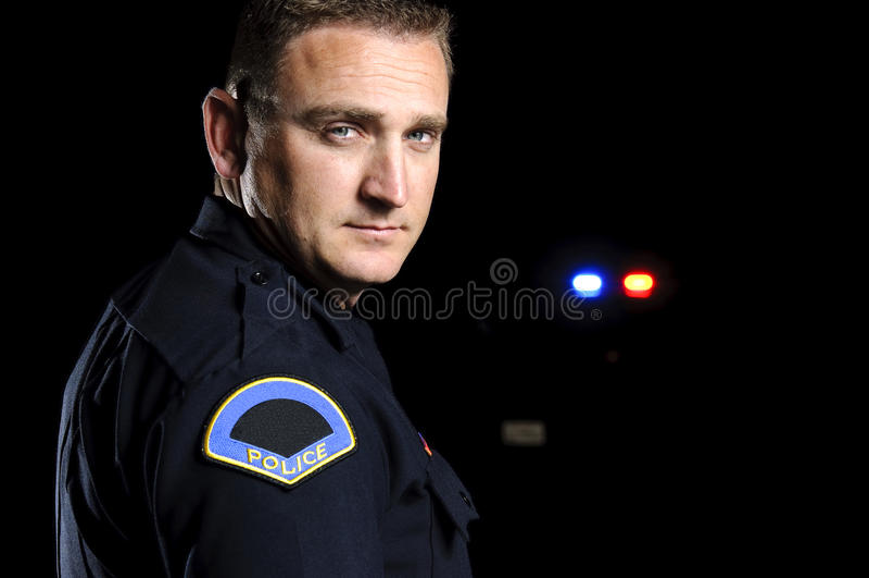Night Patrol royalty free stock photography
