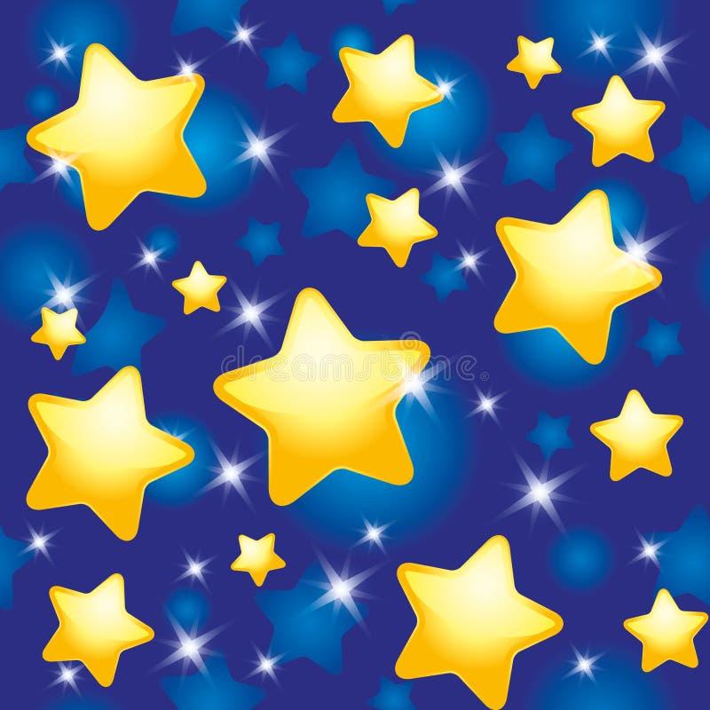 Download Night pattern stock vector. Image of sleep, baby, dream - 21030296