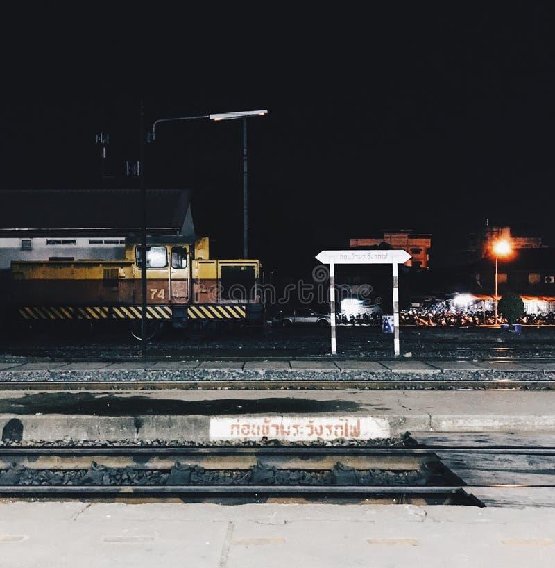 At night stock photo