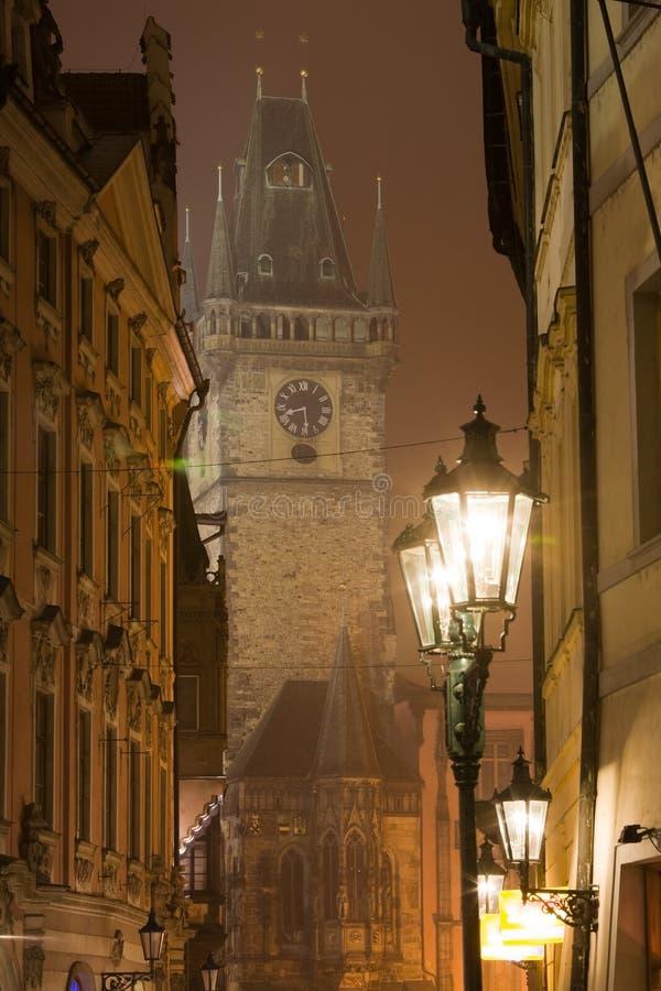 Download Night Prague fog stock image. Image of scenic, unesco - 6751185