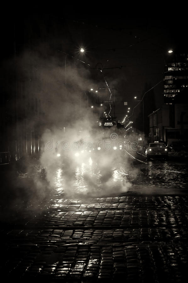 Free Night Prague Street Stock Images - 14249704