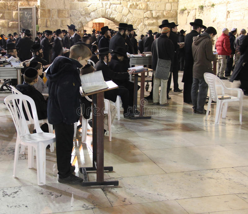Download Night prayer editorial stock image. Image of jewish, judaism - 22747164