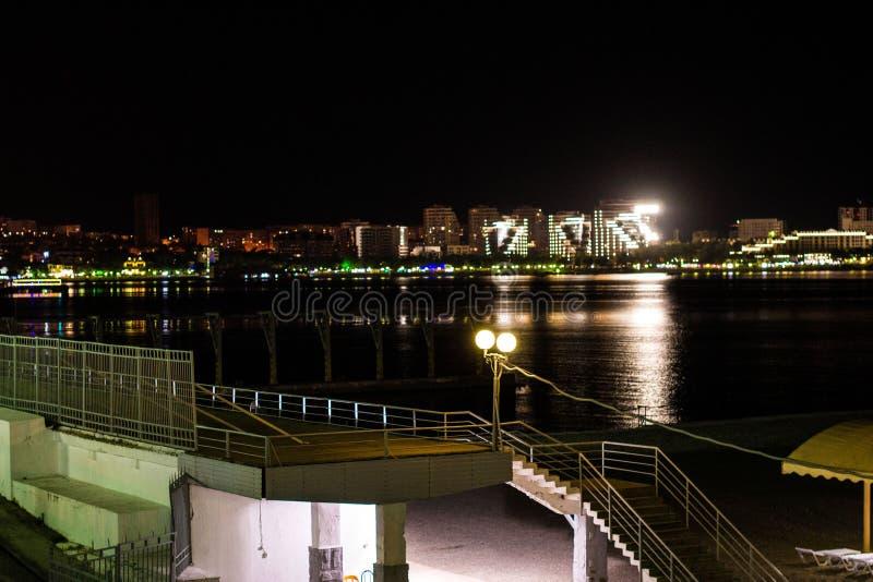Night promenade. stock photography