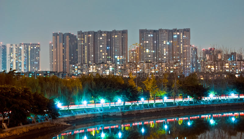 Download Night Residential Royalty Free Stock Photos - Image: 22543268