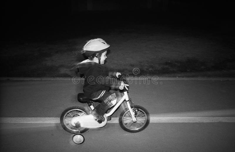 Download Night riding bike stock photo. Image of motion, speed - 21931130