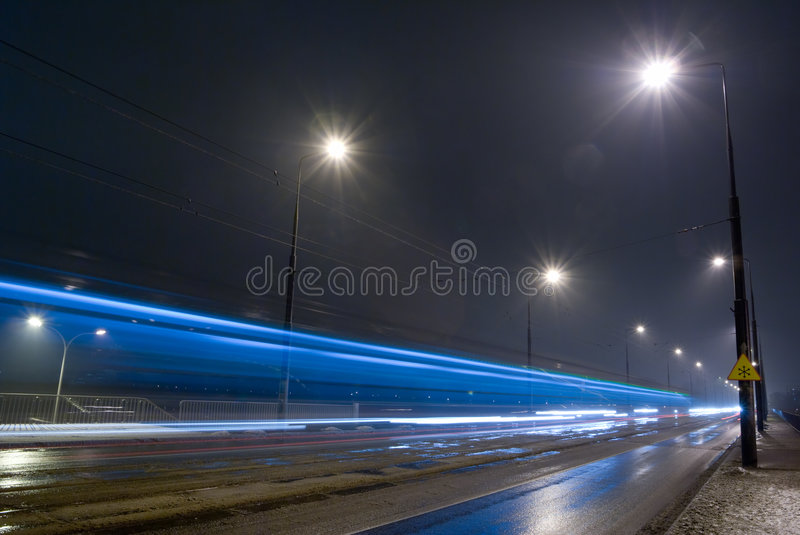 Night road. stock images