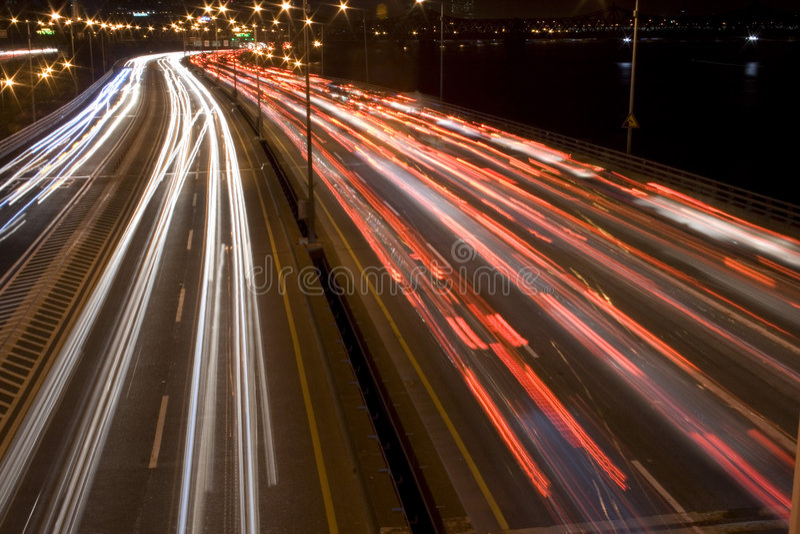 Night Scene stock image
