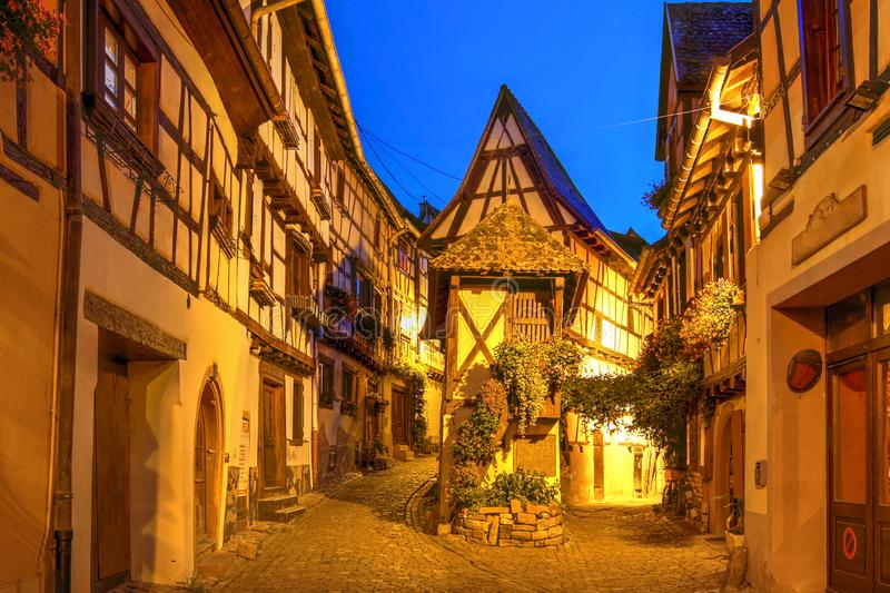Eguisheim, Alsace, France royalty free stock images