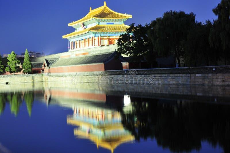 Night Scene Of Forbidden City Stock Image