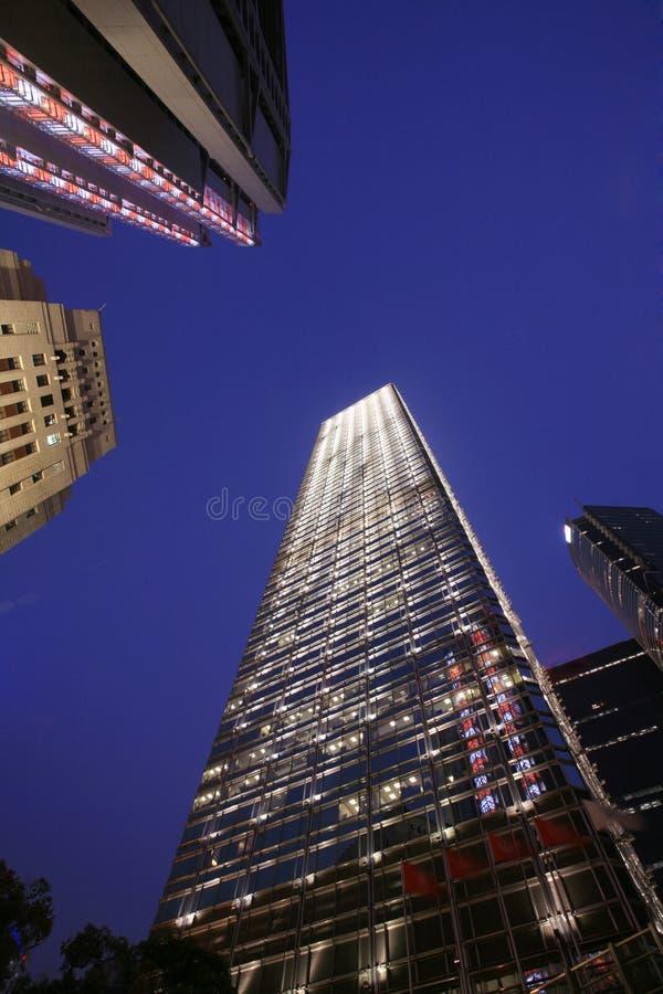 Download Night scene of HongKong stock photo. Image of peak, holiday - 7499508