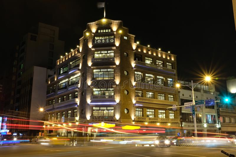 Lin department store in Tainan Taiwan stock image