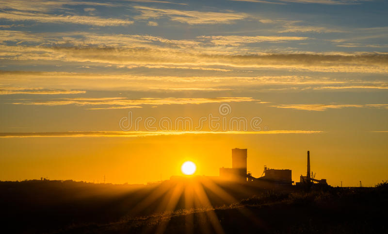 Night shift stock images
