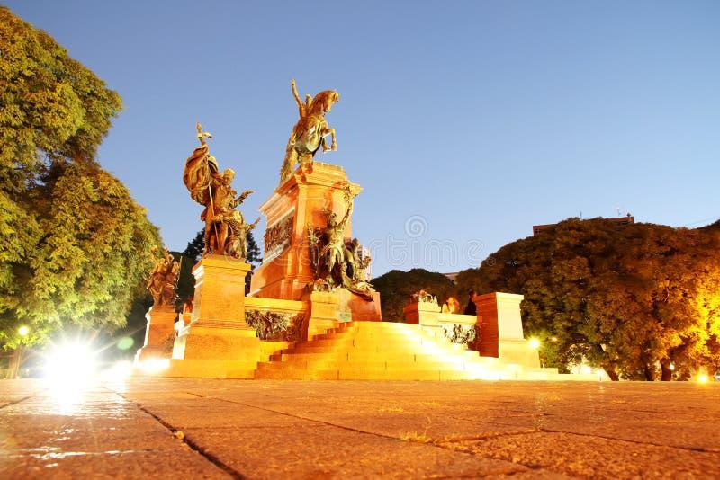 Night shot of San Martin, Buenos Aires