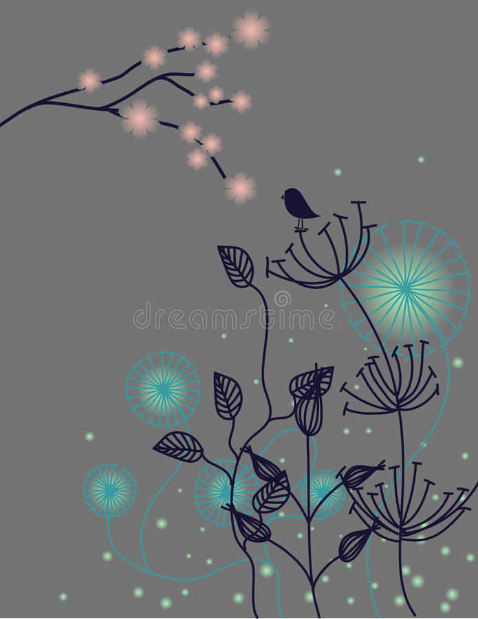 Download Night silence stock illustration. Image of environment - 15396763