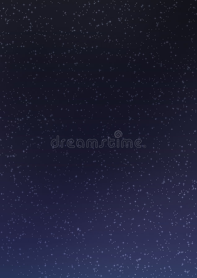 Download Night Sky 04 stock illustration. Image of trees, glowing - 3299489