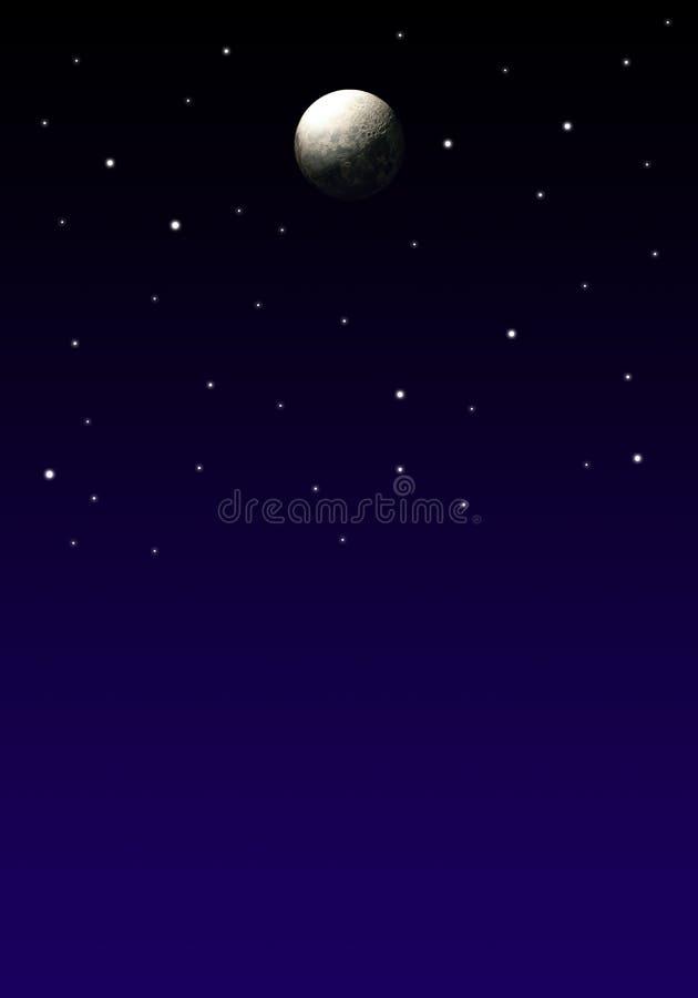 Night Sky stock illustration