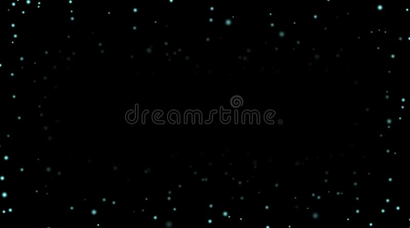 Night sky with blue stars on black background. Dark astronomy space template. Galaxy starry pattern wallpaper. Shiny. Stars, night sky universe. Cosmos stars vector illustration