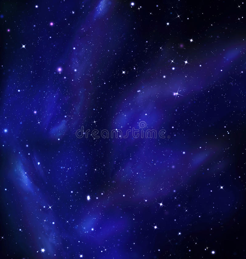 Night Sky, Milky Way, Galaxy. Background royalty free stock images