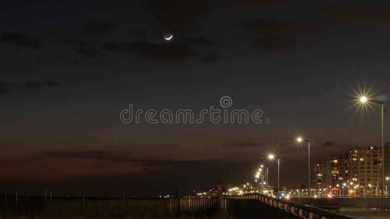 A night sky stock photography