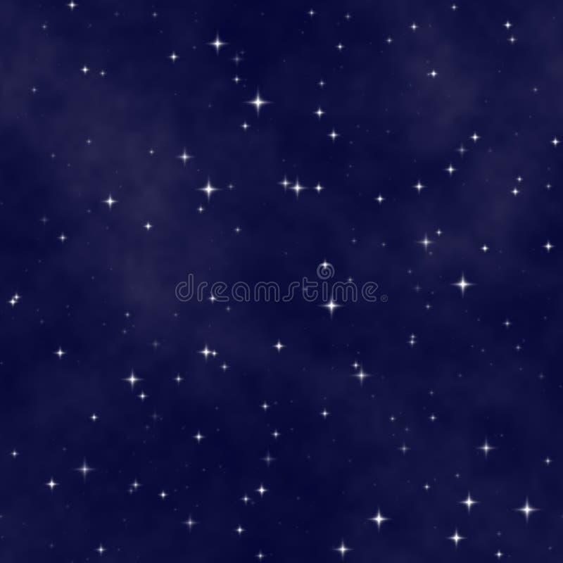 night sky star διανυσματική απεικόνιση