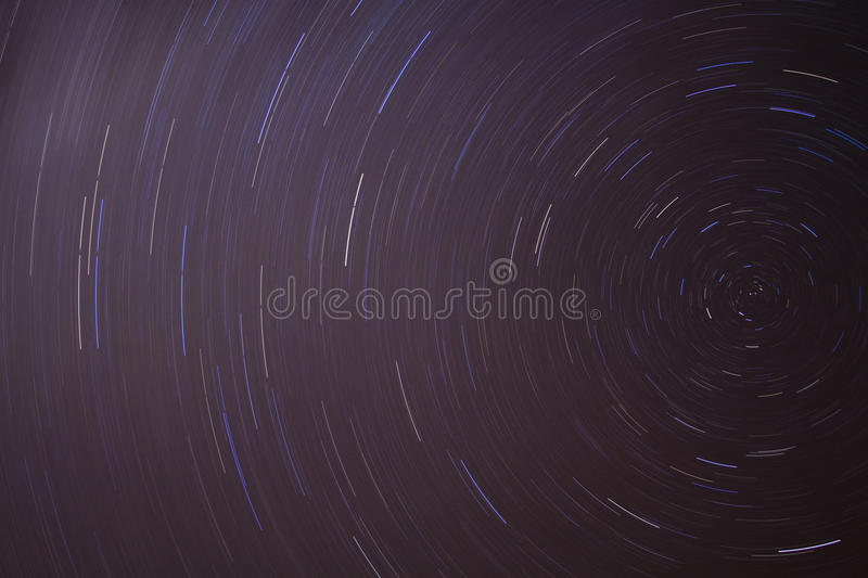 Download Night Sky Star Trails stock photo. Image of landscape - 9859870