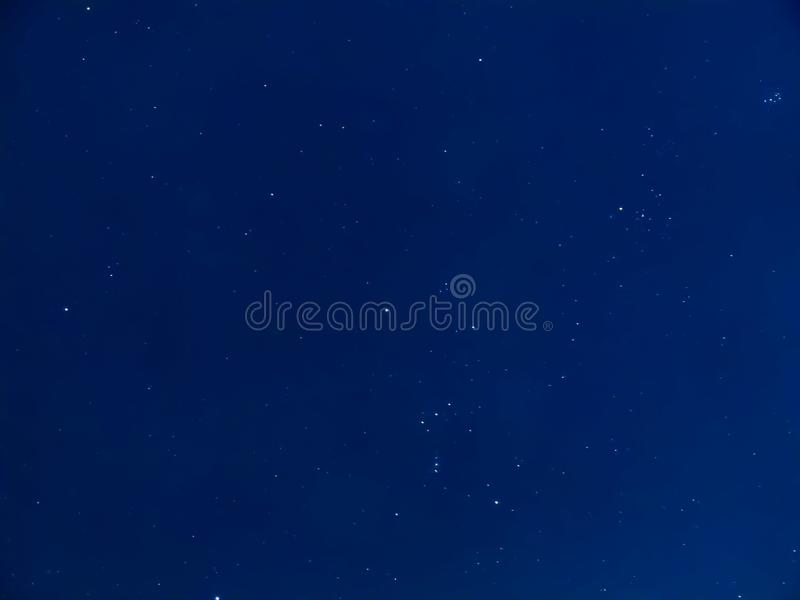 Night of sky with stars stock photography