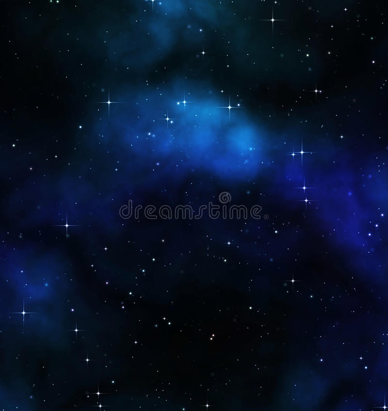 night sky or stars in deep space vector illustration