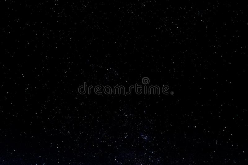Night sky with stars and galaxy in outer space, universe background stock images