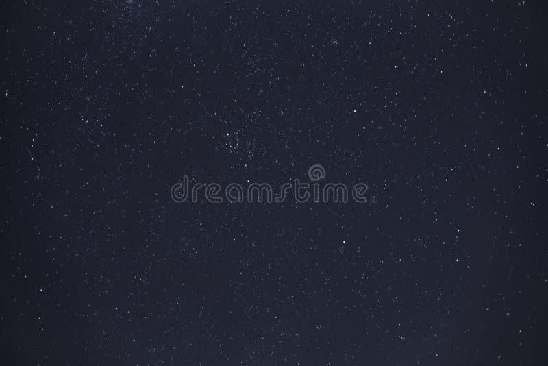 Night sky with stars. Shot royalty free stock photo