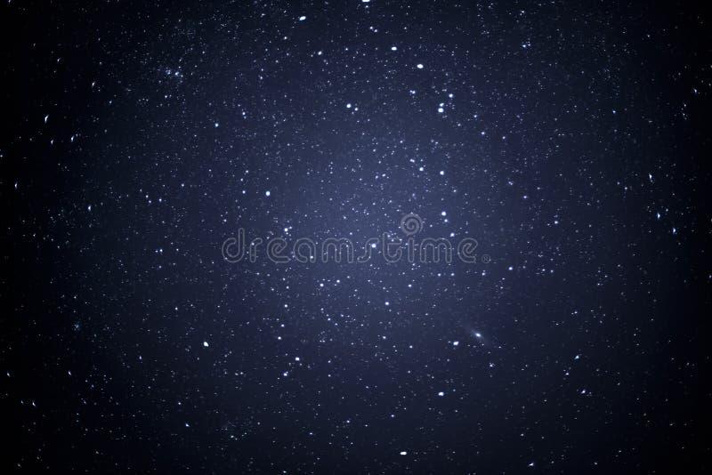 Night sky with stars. Shot royalty free stock image