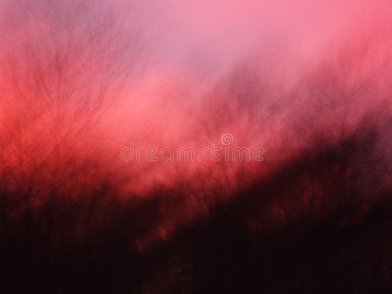 Night sky at sunset royalty free stock image