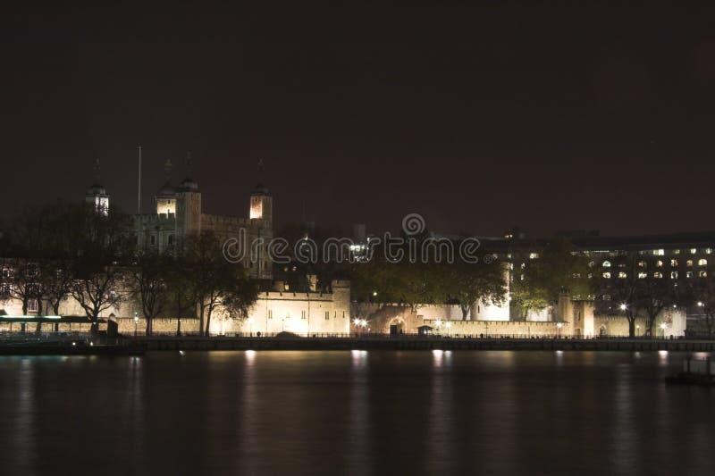 Night skyline of london royalty free stock photography