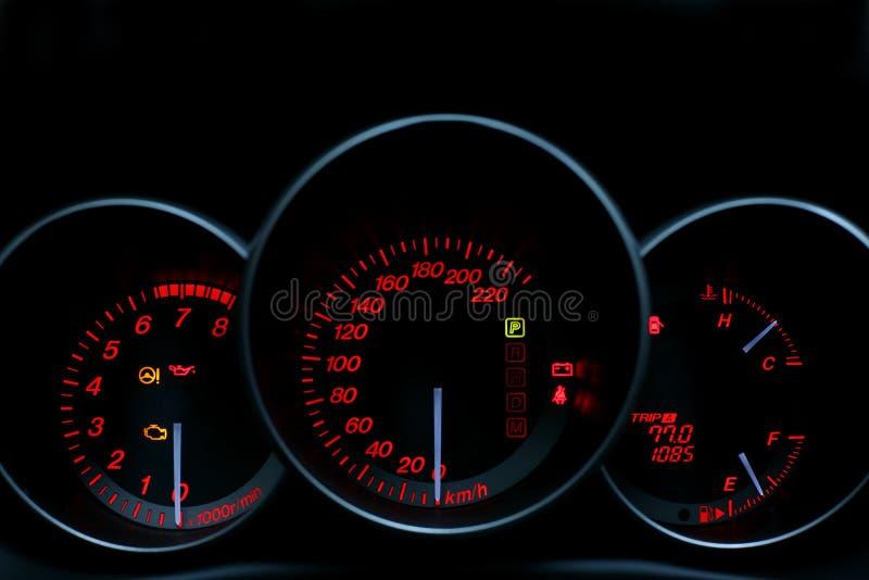 night speedometer ελεύθερη απεικόνιση δικαιώματος