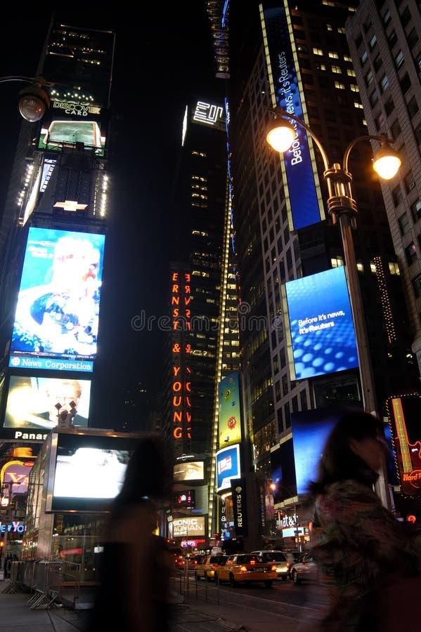 night square time στοκ φωτογραφία με δικαίωμα ελεύθερης χρήσης