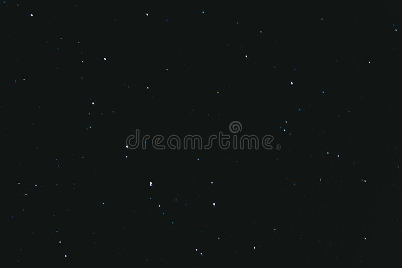 Night starry sky. Space background. A lot of stars on a dark night background stock image