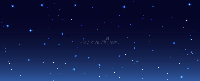 Night stars sky background illustration. Galaxy dark night starry sky wallpaper.  royalty free illustration