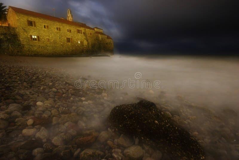 Download Night Storm Of Budva Royalty Free Stock Image - Image: 5128896