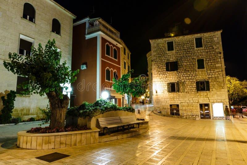 Night Street in Makarska