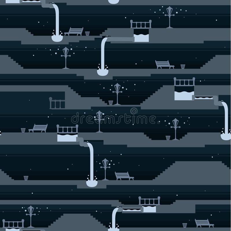 Download Night Street Wallpaper stock vector. Image of drop, night - 17845680