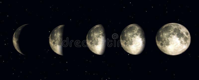 Night time 10 stock illustration