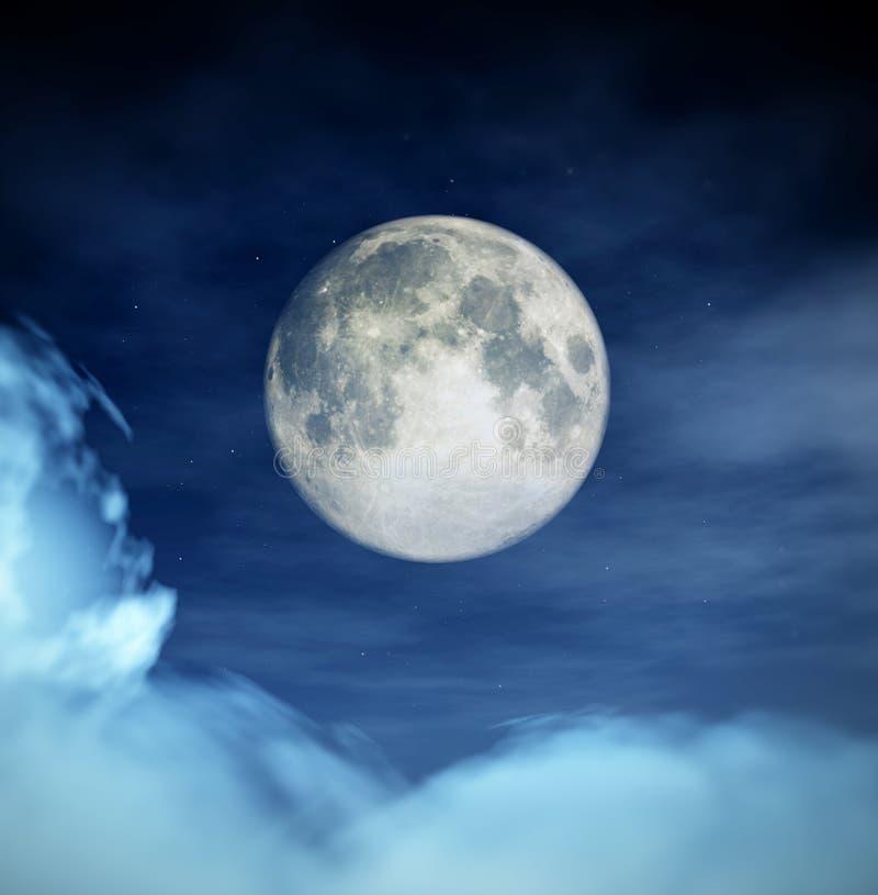 Night Time vector illustration