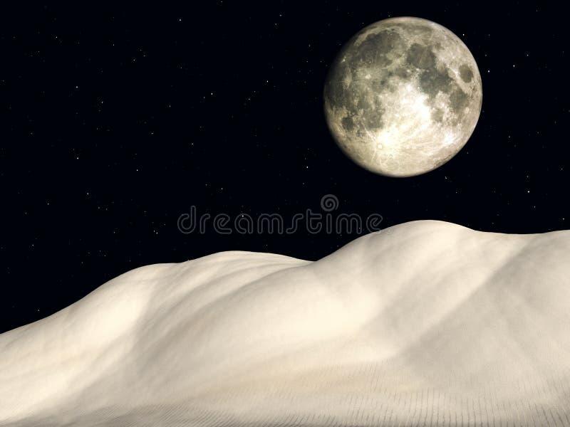 Night time 4 stock illustration