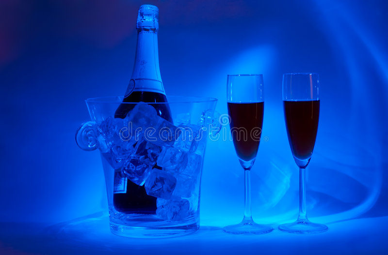 Night-time cellebration stock images