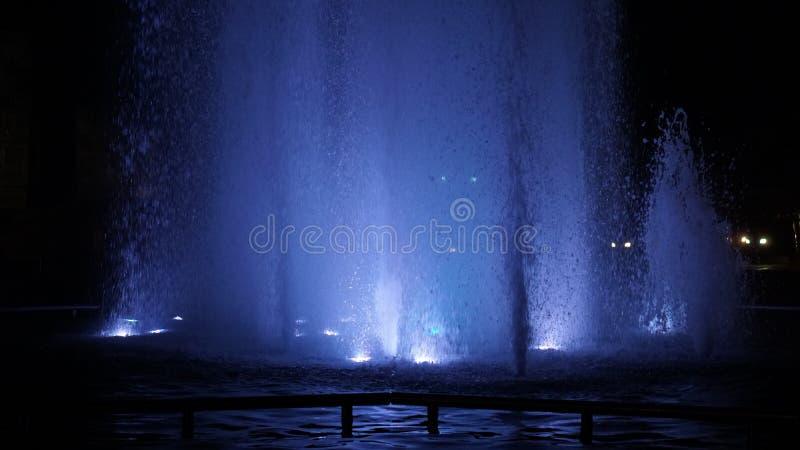 Night life in Uyo, Nigeria. Night time Picture so beautiful in Africa royalty free stock photo