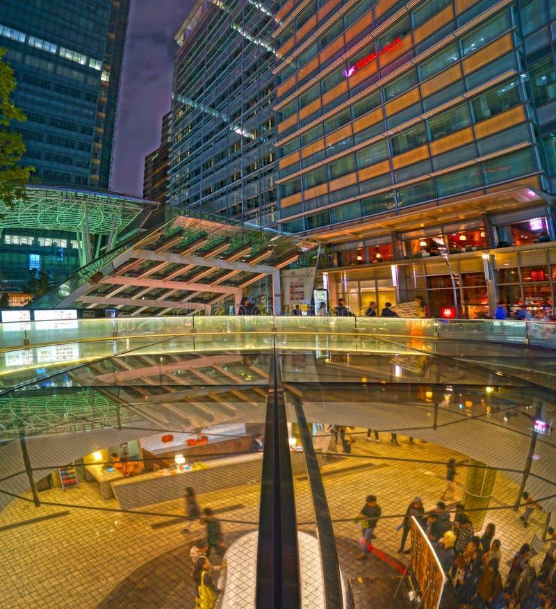 Of night Tokyo Midtown. Shooting location : Tokyo metropolitan area stock images